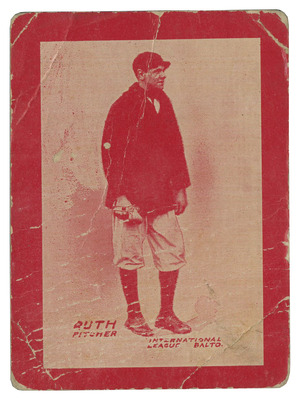ruth card front